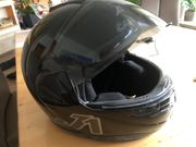 Motorradhelm CABERG J1 Klapphelm schwarz