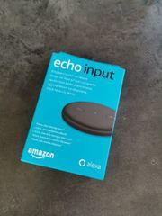 Amazon Echo Input Alexa