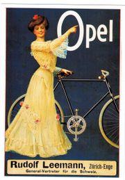 Opel 1908 Ansichtskarte Postkarte