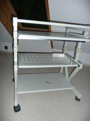Höhenverstellbarer Tisch fahrbar multifunktional Metall