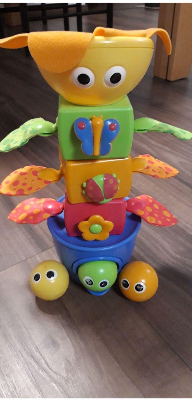 Yookidoo Steckspiel Turm mit Bällen