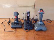 3 Joysticks für Spielkonsolen PC