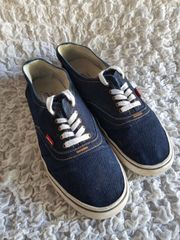 Levis Denim Canvas Herren Sneakers