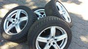Alufelgen mit Reifen Bridgestone 5-6mm