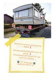 Mobilheim und Wohnwagen Ankauf Entsorgung