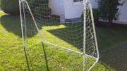 Tor Fußball Fußballtor Gestell Torwand