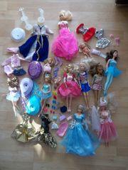 XXL Puppen-Set Kleider Schuhe Barbie