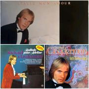 RICHARD CLAYDERMAN - 3 Vinyl LPs