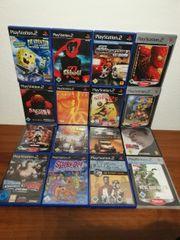 Playstation 2 Spiele Sammlung