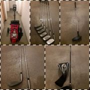 Golfschläger Trolley Golfbag komplett Set