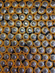 100x DURACELL INDUSTRIAL AA LR6