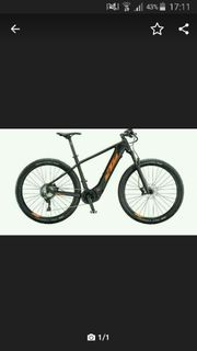 KTM macina MOUNTAIN E BIKE
