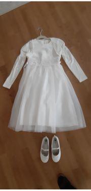 Erstkommunion Kleid mit Bolero und