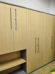 Buchenfurnier Büromöbel