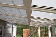 Sehr günstiger Pergola-Sonnenschutz - elektrisch zu