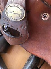 Deuber Westernsattel für breite Pferde