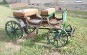 Wunderschöne antike Pony Kutsche