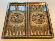 Iranische Persische Kunsthandwerke Backgammon Termeh