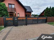 Aluminium Lamellenzaun Classic Fence Zaun