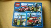 NEW LEGO City 60001 - Feuerwehr-Einsatzwagen