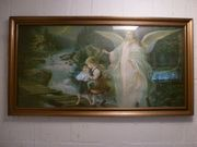 Heiligenbild mit Engel