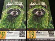 2x Southside Festival Tickets 2019
