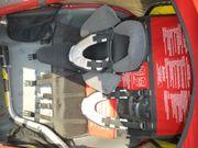 Chariot Fahrradanhänger gebraucht inklusive Babyhängematte