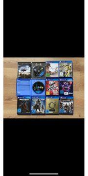 Verschiedene PS4 Spiele Preise auf