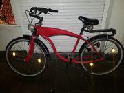 Rotes Fahrrad Rarität von Langnese