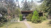 Grundstück mit Wochenendhaus schöne Waldrandlage