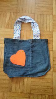 kleine genähte Tasche handmade