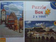 Puzzle 2x1000 Teile Rothenburg Nazaire