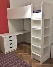 Hochbett - Ikea STUVA - weiss