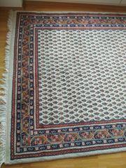 Orientteppich echt 130x124 cm