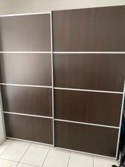 Schwebetüren-Kleiderschrank ca 180x200