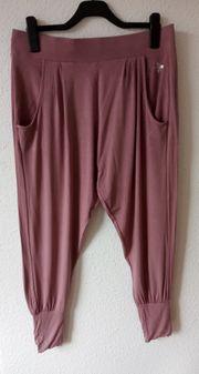 Leichte Sommer Damen Hosen schwarz