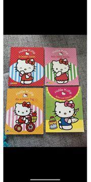 4x Hello Kitty Büchlein