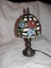 Kleine Stehlampe im Tiffany
