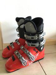 Schischuhe Skischuhe rot schwarz Gr