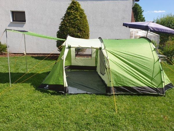 4 Mann Zelt Familienzelt Camping