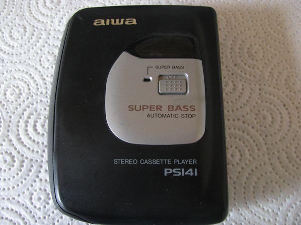 aiwa PS141 tragbarer Cassettenplayer