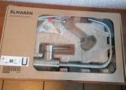 ÄLMAREN Mischbatterie Wasserhahn Küche silber