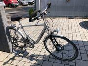 Herren Fahrrad silber
