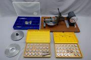 Chronos-Zahnradwälzmaschine Räderfräsmaschine für Grossuhren mit