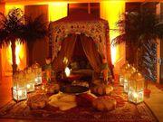 Wahrsagerzelt eingerichtete Zelt Verleih Maharaja