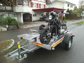 Motorradwerkzeug, Werkstattausrüstung - Verleihe meinen Motorradanhänger