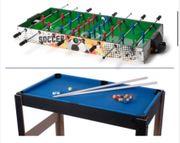 Tischfussball - Multifunktions-Spieltisch