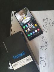 Samsung Note 8 Schwarz INFO