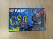 BASF Leer-Kassetten für Kassettenrekorder