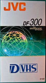 JVC DF 300 DVHS Videokassetten